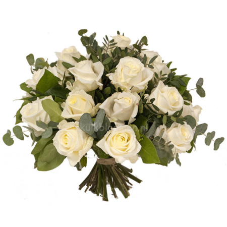 bos witte rozen bestellen Leiden