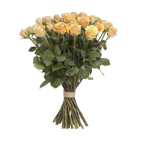 Zalm oranje rozen per stuk