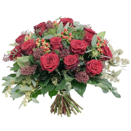 bos rode rozen Valentijn bezorgen Leiden