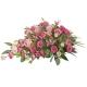 Rouwstuk roze bloemen